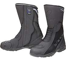 Black Oxygen Elite Motorcycle Boots 44 Black