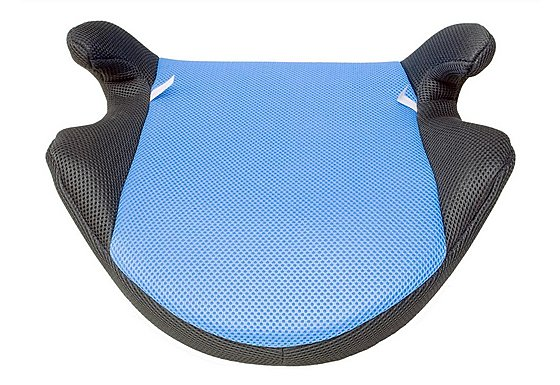 Halfords Child Booster Seat Blue/Grey
