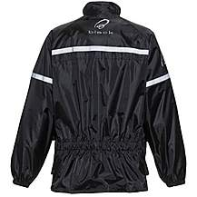 image of Black Spectre Waterproof Motorcycle Jacket L Black (a-050)