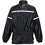 image of Black Spectre Waterproof Motorcycle Jacket Xxl Black (a-050)