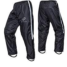 image of Black Spectre Waterproof Textile Trousers L Black (a-050)