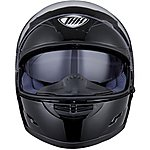 image of Thh Ts-80 Plain Full Face Motorcycle Helmet L Black