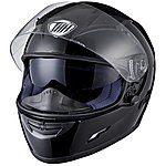 image of Thh Ts-80 Plain Full Face Motorcycle Helmet M Black