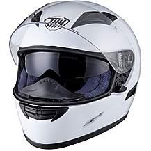 image of Thh Ts-80 Plain Full Face Motorcycle Helmet L White