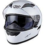 image of Thh Ts-80 Plain Full Face Motorcycle Helmet Xl White