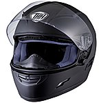 image of Thh Ts-80 Plain Full Face Motorcycle Helmet L Matt Black