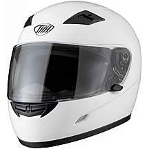 image of Thh Ts-39 Plain Full Face Motorcycle Helmet Xl White