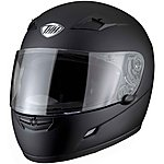image of Thh Ts-39 Plain Full Face Motorcycle Helmet Xl Matt Black