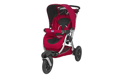 image of Chicco Activ3 Stroller - Red Wave