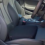 Putnams Black 11 Degree Memory Foam Wedge Seat Cushion Office Or Car