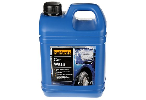 Halfords Car Wash 2.5 Litre