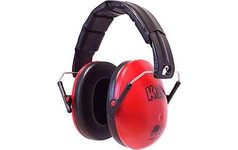 image of Edz Kidz Ear Defenders Red