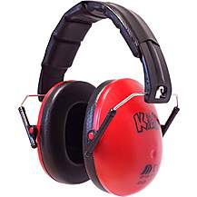image of Edz Kidz Ear Defenders Red