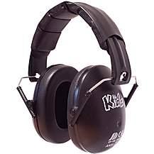 image of Edz Kidz Ear Defenders Black