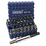 image of Draper 38716 33 Piece Security Bit Set