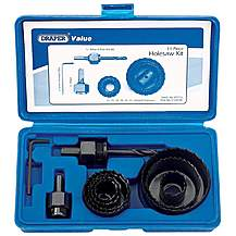 image of Draper 16645 Series 11 Piece Holesaw Kit