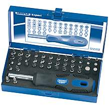 image of Draper 03108 Expert 42 Piece Security Bit Set