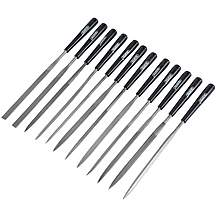 image of Draper 36325 12 Piece 140mm Needle File Set