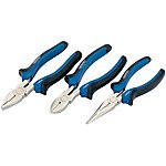 image of Draper 45864 Soft Grip Pliers Set (3 Piece)