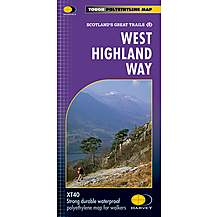 image of Harvey National Trail Map - West Highland Way