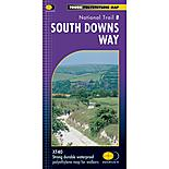 Harvey National Trail Map - South Downs Way