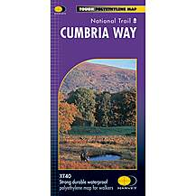 image of Harvey National Trail Map - Cumbria Way