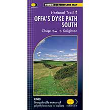 image of Harvey National Trail Map - Offas Dyke Path (south)