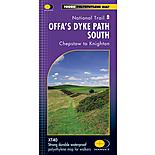 Harvey National Trail Map - Offas Dyke Path (south)