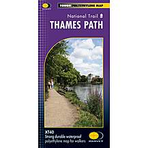 image of Harvey National Trail Map - Thames Path