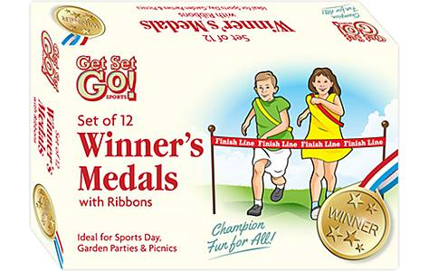 image of Sports Day Winners Medals