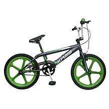 image of Harlem Xr22 20inch Skyway Mag Bmx Freestyler Bike Green