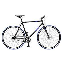 image of Khe Fixie Ii - 2 Speed Road Bike Black 54cm