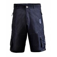 Funkier Mtb Rider Baggy Cycling Shorts In Black Small