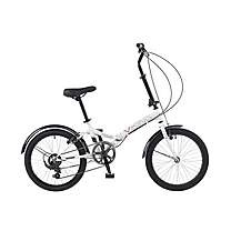 image of Viking Citifold Unisex 6 Speed Folding Bike 13in