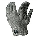 image of Dexshell Waterproof Cut Resistant Lightweight Techshield Gloves. Grey, Medium.