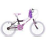 "image of Concept Starlight Girls Single Speed 18"" Bike Purple/white"