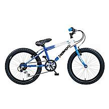 image of Concept Havoc Boys 6 Speed 20in Bike Blue/white