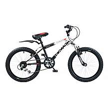 image of Concept Demon Boys Mountain Bike 20inch Wheels 10inch Frame Front Suspension
