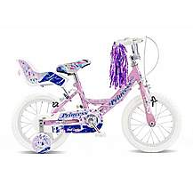"image of Concept Princess Girls Single Speed Bike 14"" Pink"