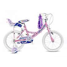 "image of Concept Princess Girls Single Speed Bike 16"" Pink"
