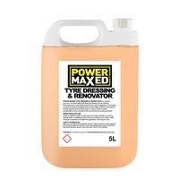 Power Maxed Tyre Shine Dressing (show Shine) 5 Litre