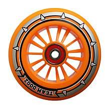 image of Team Dogz 100mm Nylon Wheels - Orange Core Orange Pu