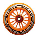 Team Dogz 100mm Nylon Wheels - Orange Core Orange Pu