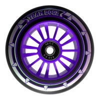Team Dogz 100mm Nylon Wheels - Purple Core Black Pu