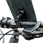 image of BTR Bicycle Handlebar Waterproof Phone Mount Holder With Quick Release System
