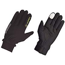 image of Chiba Thermofleece Touch Glove In Black - Xx-large