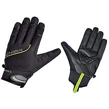 image of Chiba Bioxcell Full Fingered Touring Glove In Black  - Medium