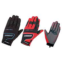 image of Chiba Threesixty Full Fingered Touring Glove - Medium Red
