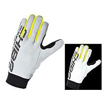 image of Chiba Pro Safety Reflector Glove In Silver-reflect - Medium