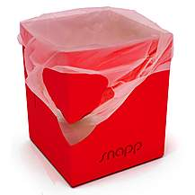 image of Snappy Bin The Portable Folding Bin (red)